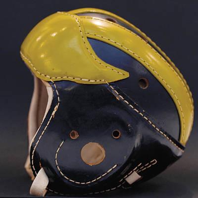 1940s Leather Wolverine Helmet Art Print