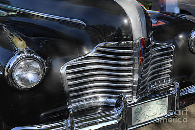 Photograph - 1941 Buick Century by Marty Fancy