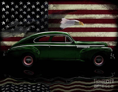 Photograph - 1941 Buick Century Tribute by Peter Piatt