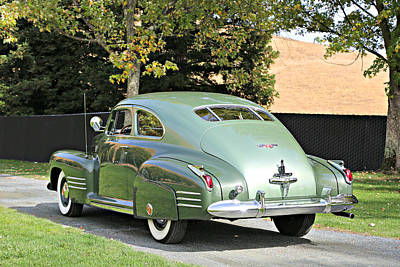Photograph - 1941 Cadillac Coupe by Steve Natale