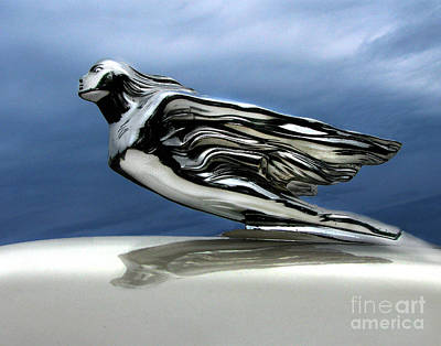 Automotive Photograph - 1941 Cadillac Emblem Abstract by Peter Piatt