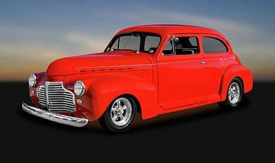 Photograph - 1941 Chevrolet 2 Door Sedan  -  1941chevy2drsedan0080 by Frank J Benz