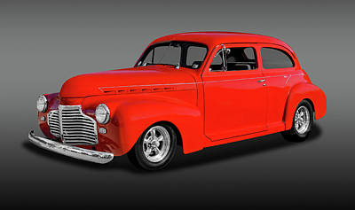 Photograph - 1941 Chevrolet 2 Door Sedan  -  1941chevysedanfa0080 by Frank J Benz