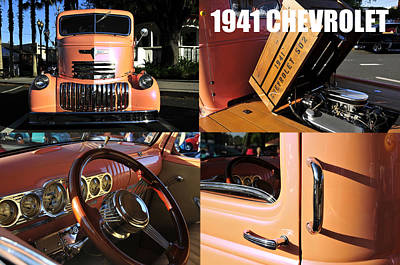 Photograph - 1941 Chevrolet Big Truck B by David Lee Thompson