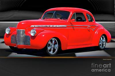 Nirvana - 1941 Chevrolet Coupe Winners Circle by Dave Koontz