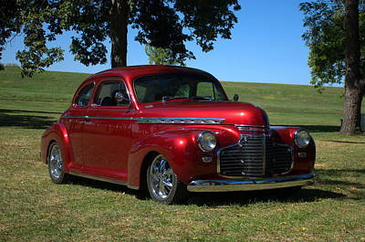 Photograph - 1941 Chevrolet Custom Street Rod by Tim McCullough