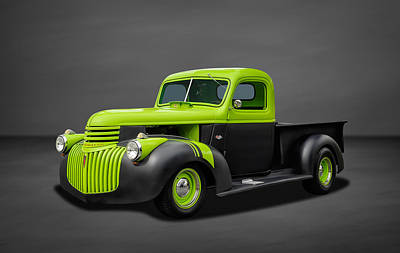 1941 Chevrolet Pickup Truck Art Print by Frank J Benz