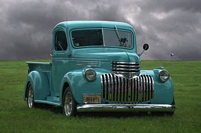Photograph - 1941 Chevrolet Pickup Truck by Tim McCullough