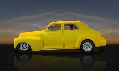 Photograph - 1941 Chevrolet Special Deluxe Fleetline  -  Chv1 by Frank J Benz