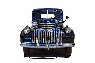 Chev Pickup Photograph - 1941 Chevy Pickup Truck by Nick Gray