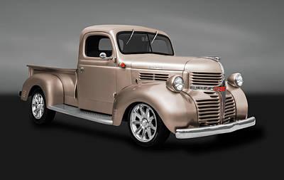 Photograph - 1941 Dodge Pickup Truck  -  1941dodgepickuptrkgry184138 by Frank J Benz