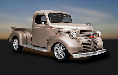 Photograph - 1941 Dodge Pickup Truck  -  1941dodgepickuptruck184138 by Frank J Benz