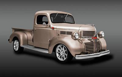Photograph - 1941 Dodge Pickup Truck  -  1941dodgepkuptrkfa184138 by Frank J Benz