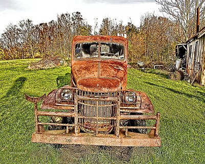 Photograph - 1941 Dodge Truck 3 by Mark Allen