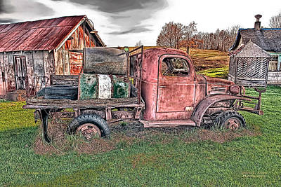 Photograph - 1941 Dodge Truck by Mark Allen