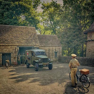 Photograph - 1941 Dodge Wc27 Ambulance by Susan Rissi Tregoning