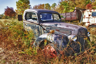 Photograph - 1941 Ford Truck by Mark Allen