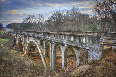Photograph - 1941 Millmore Mill Bridge Highway 16 Hancock County by Reid Callaway