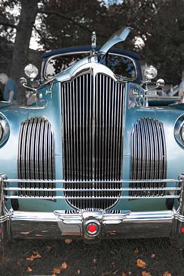 1941 Packard 120 Convertable Sedan Art Print