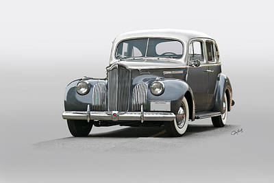 Transportation Royalty-Free and Rights-Managed Images - 1941 Packard 120 Sedan I by Dave Koontz