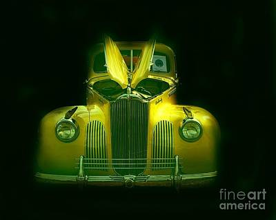 Photograph - 1941 Packard by Anne Sands