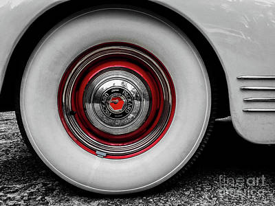 1941 Packard Convertible Wheels Art Print