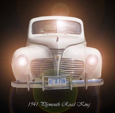 Photograph - 1941 Plymouth Road King by David and Lynn Keller