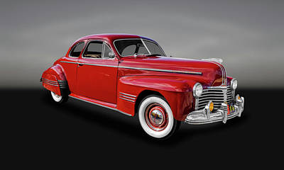 Photograph - 1941 Pontiac Torpedo 8 Coupe Model 29   -   41pontcoupe412 by Frank J Benz