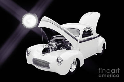 Photograph - 1941 Willys Coope Classic Car Photograph 1227.01 by M K Miller