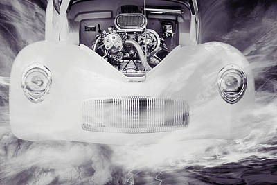 Photograph - 1941 Willys Coope Classic Car Photograph 1228.01 by M K Miller