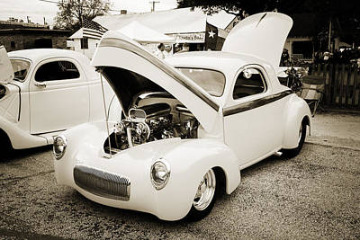 Photograph - 1941 Willys Coope Classic Car Photograph 1229.01 by M K Miller