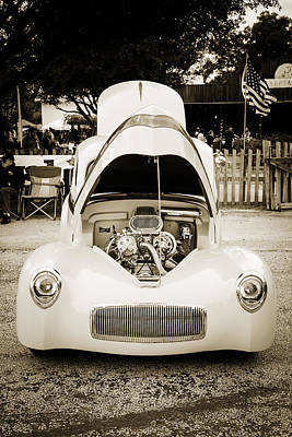 Photograph - 1941 Willys Coope Classic Car Photograph 1231.01 by M K Miller
