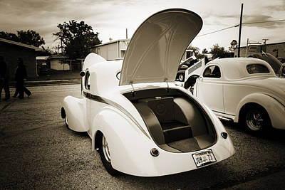 Photograph - 1941 Willys Coope Classic Car Photograph 1235.01 by M K Miller