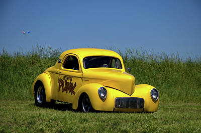 Photograph - 1941 Willys Coupe by TeeMack