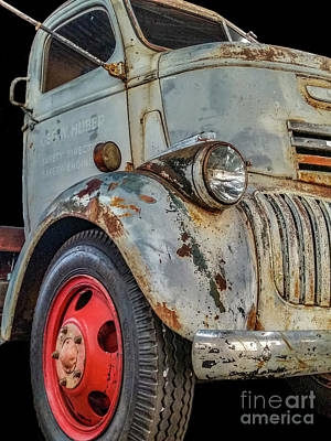 Photograph - 1942 Chevrolet Coe by Tony Baca