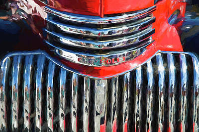 Photograph - 1942 Chevrolet Pick Up Truck 3100 Series  by Rich Franco