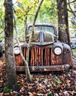 Photograph - 1942 Ford Pickup by Alan Raasch