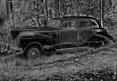 Photograph - 1942 Hudson Commodore Eight by Wesley Nesbitt