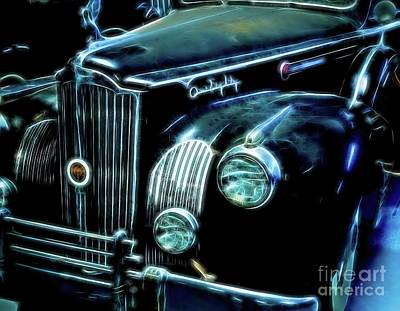 Photograph - 1942 Packard Sedan by Diana Mary Sharpton