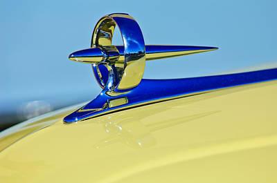 Photograph - 1946 Buick Convertible Hood Ornament 3 by Jill Reger