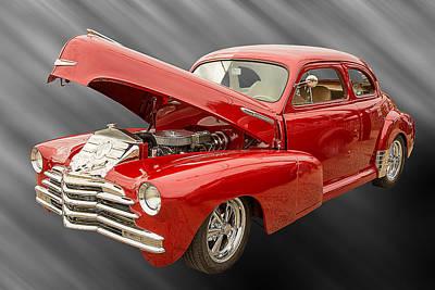 Photograph - 1946 Chevrolet Classic Car Photograph 6766.02 by M K Miller