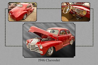 Photograph - 1946 Chevrolet Classic Car Photograph 6771.02 by M K Miller