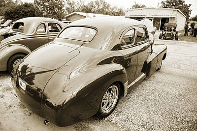 Antique Car Photograph - 1946 Chevrolet Classic Car Photograph 6783.01 by M K  Miller