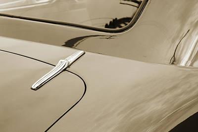 Vintage Car Photograph - 1946 Chevrolet Classic Car Photograph 6784.01 by M K  Miller