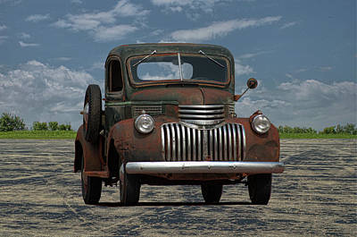 Photograph - 1946 Chevrolet Pickup Truck by Tim McCullough
