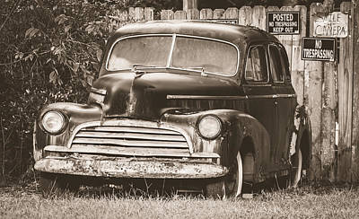 1946 Chevy Fleetmaster Print by Alicia Collins