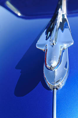 1946 Chevy Hood Ornament Art Print