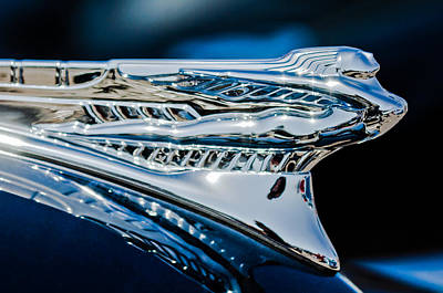 Photograph - 1946 Desoto Hood Ornament by Jill Reger