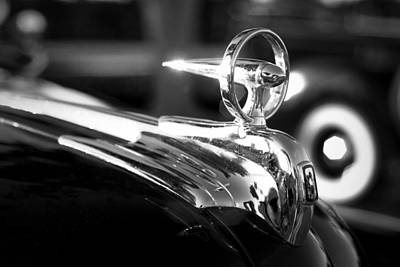Photograph - 1946 Ford V8 Hood Ornament by Beverly Stapleton