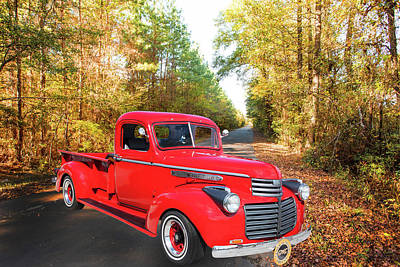 Photograph - 1946 Gmc Pickup Truck 5514 .01 by M K Miller
